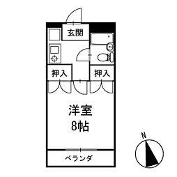 マンション神尾[104号室]の間取り