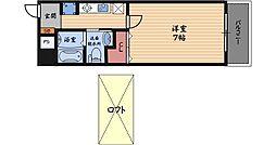 W.O.B.FUKUSIMA[7階]の間取り