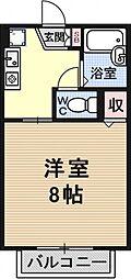 セジュールレイク[206号室号室]の間取り
