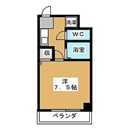 トライグループ烏丸ビル[6階]の間取り