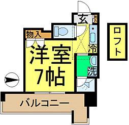 東京都江戸川区大杉5丁目の賃貸マンションの間取り