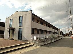 兵庫県神戸市西区大沢2丁目の賃貸アパートの外観
