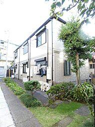 東京都北区赤羽西1の賃貸アパートの外観