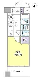 神奈川県横浜市保土ケ谷区星川1丁目の賃貸マンションの間取り