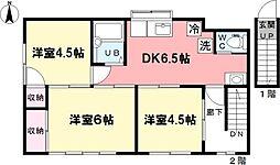 [タウンハウス] 東京都杉並区井草5丁目 の賃貸【/】の間取り