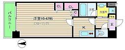 アーバネックス梅田東[8階]の間取り