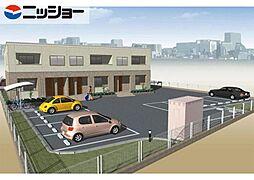 仮)川島松倉町新築アパートA棟[2階]の外観