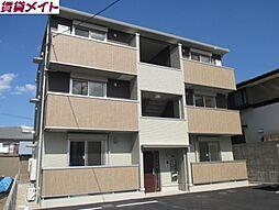 三重県四日市市滝川町の賃貸アパートの外観
