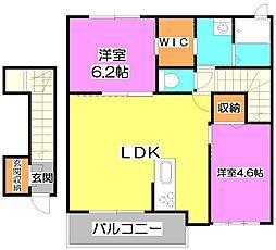 新築)荻I 〜Ogi〜[2階]の間取り