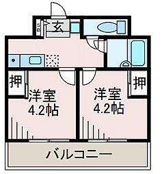 SOCIO町田[4階]の間取り