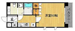 キアーラ御所[5階]の間取り