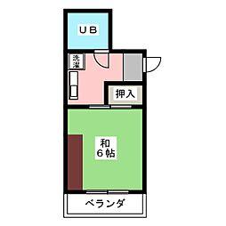 駿河屋ビル[4階]の間取り
