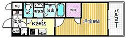 エスリード京橋グランツ[2階]の間取り