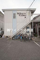ラクシュリーマンションA棟[202号室]の外観
