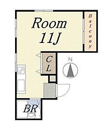 ローレルハイツ[3階]の間取り