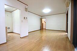 練馬区上石神井1丁目 中古一戸建 2LDKの居間