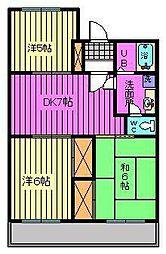 第7池田マンション[402号室]の間取り