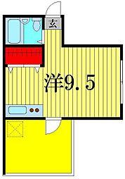 リッツハウス[4階]の間取り