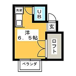 TOGETHER21 A棟[1階]の間取り
