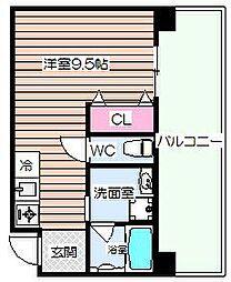 カザリーノビル[8階]の間取り