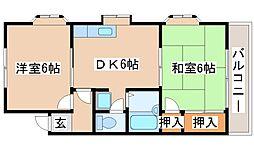 兵庫県神戸市西区中野1丁目の賃貸マンションの間取り