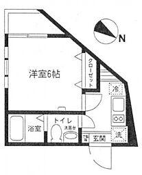 Style Residence 千歳烏山[201号室号室]の間取り
