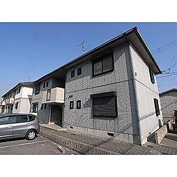 奈良県奈良市四条大路4丁目の賃貸アパートの外観