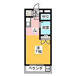 Oasis  Mizuho[5階]の間取り