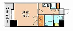 サヴォイステーション[6階]の間取り