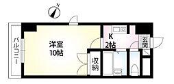 クレストガーデン野田[1階]の間取り