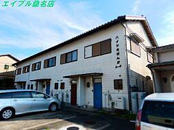 三重県桑名市長島町押付の賃貸アパートの外観
