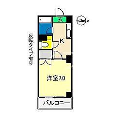 ウィステリア(桜井町)[3階]の間取り