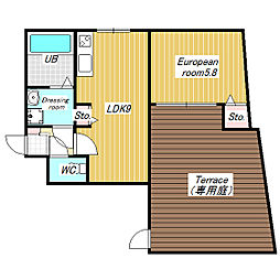 Pear  Residence  Minato[101号室]の間取り