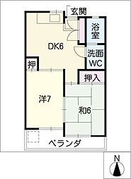大塚ビル[4階]の間取り