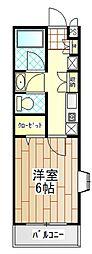 神奈川県厚木市妻田西3丁目の賃貸マンションの間取り