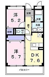 コータ・コートII[2階]の間取り