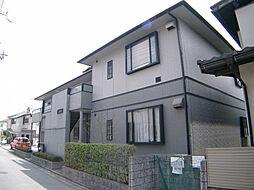 兵庫県宝塚市中山寺1丁目の賃貸アパートの外観
