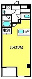 埼玉県さいたま市中央区新都心4丁目の賃貸マンションの間取り