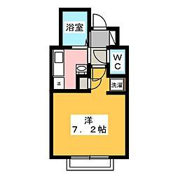 CASA・15[1階]の間取り
