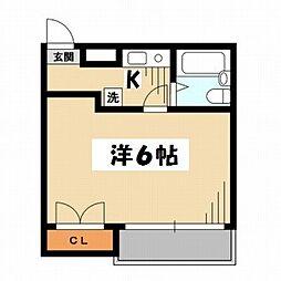 東京都荒川区東尾久3丁目の賃貸アパートの間取り