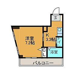 メゾンド・ウィスタリア[2階]の間取り