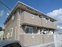 福岡県福岡市東区青葉2丁目の賃貸アパートの外観