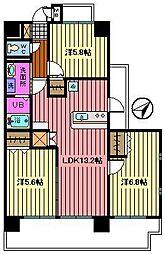 ルミナール[3階]の間取り