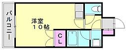 メルパーク香華II[2階]の間取り