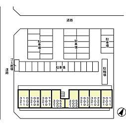 D-Room 八反野[203号室]の外観