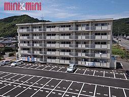 福岡県糸島市二丈深江の賃貸マンションの外観