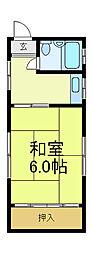 [タウンハウス] 大阪府大阪市阿倍野区阿倍野筋5丁目 の賃貸【/】の間取り