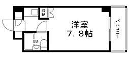 兵庫県姫路市梅ケ谷町2丁目の賃貸マンションの間取り