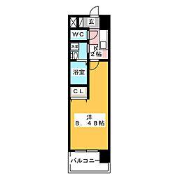 ArtizA千代田[13階]の間取り