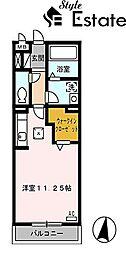 クリークII(クリークツー)[1階]の間取り